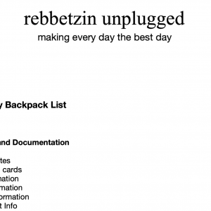 Instant Download Checklists